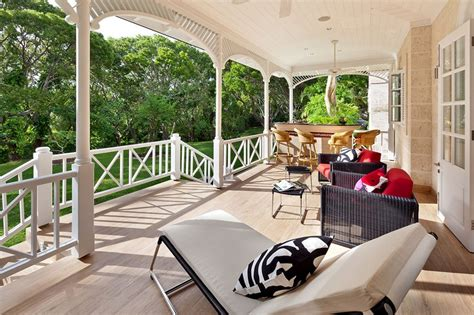 Posh Portuguese Residence With Beautiful Lake Views by High Villa In Barbados Caribbean