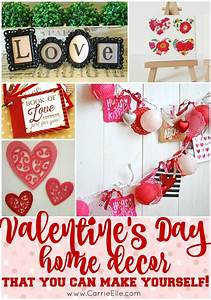 DIY Valentine's Day Decorations - Carrie Elle