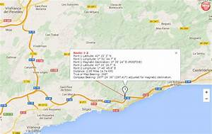 Set Compass Route Information Display