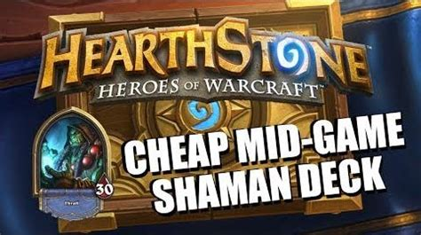shaman deck blackrock hearthstone cheap shaman deck hearthstone