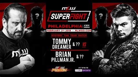 February 2: SUPERFIGHT (Fusion TV Taping)