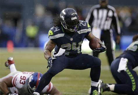 standouts seahawks run   giants   straight