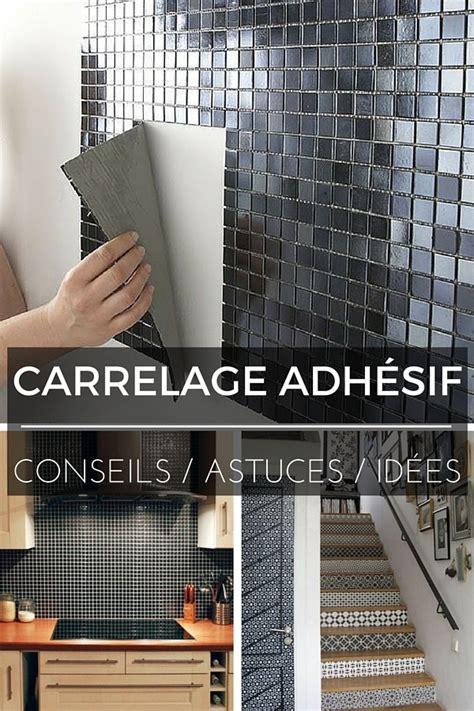 adh駸if carrelage cuisine rouleau adhesif meuble cuisine maison design bahbe com