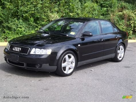 2003 Audi A4 18t Quattro Sedan In Brilliant Black