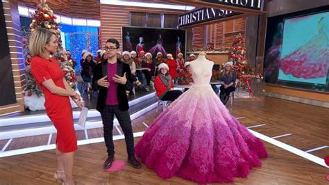 christian fashion designer fashion designer christian siriano shares the inspiration