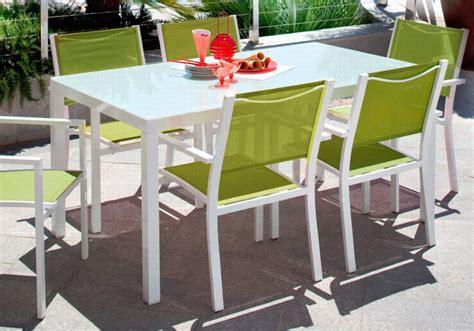 Salon de jardin  salon de jardin en aluminium Carrefour