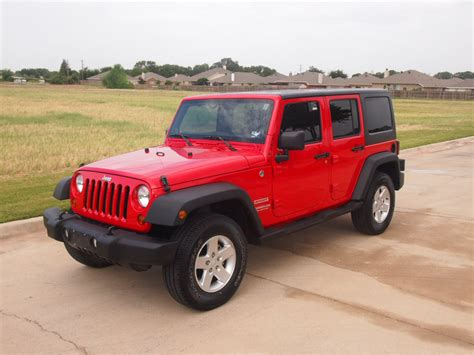 red jeep wrangler unlimited red 2011 jeep wrangler unlimited sport suv 4x4 power