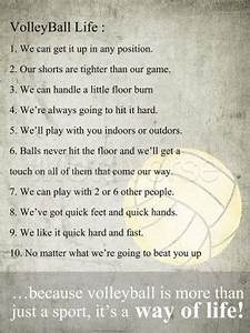 Amazing Volleyb... Short Volleyball Team Quotes