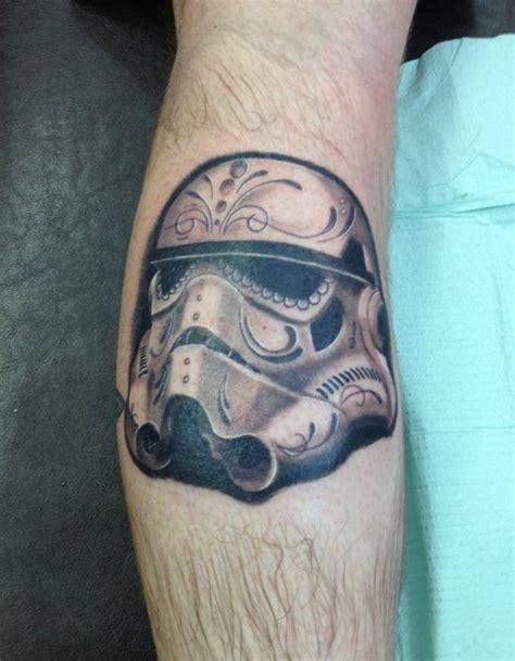 Stormtrooper Helmet Tattoo star wars stormtrooper leg tattoos 522 x 671 · jpeg