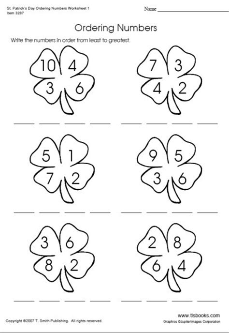 images  smallest  greatest worksheets