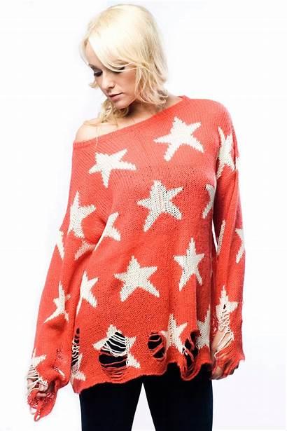 Sweater Wildfox Star Stars Seeing Lennon
