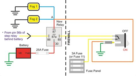 fog light relay switch wiring diagram data wiring diagrams