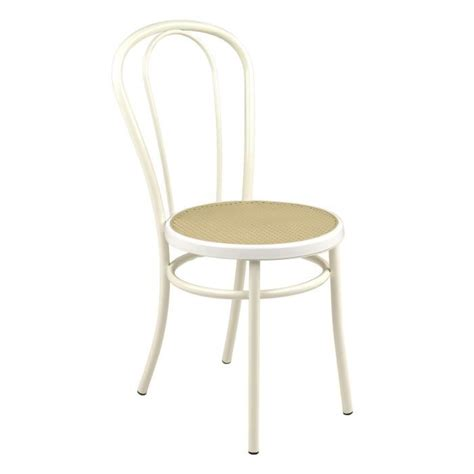 chaise de cuisine blanche bistrot chaise blanche style bistrot blanc achat