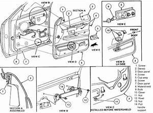 Service Manual  1996 Suzuki Esteem Door Panel Removal