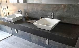 Aufsatzwaschbecken Mit Platte : waschtischplatte schiefer ~ Michelbontemps.com Haus und Dekorationen