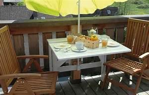 Kleiner Sonnenschirm Für Balkon : bauplan klapptisch f r den kleinen balkon ~ Bigdaddyawards.com Haus und Dekorationen