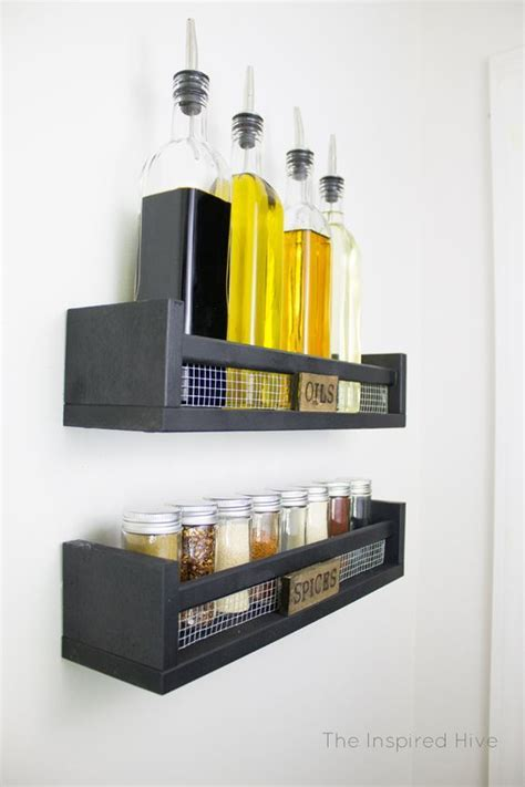 40 ways to organize with an Ikea Spice Rack   A girl and a