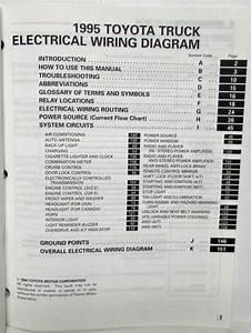 1984 Toyota Pickup Wiring Diagram Manual