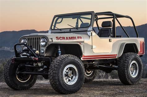 Jeep Wrangler Legacy Cj-8 Scrambler Gallery
