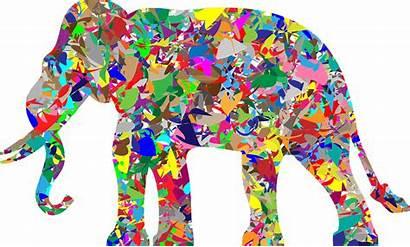 Elephant Modern Clipart Grinch Miserable Transparent Clip