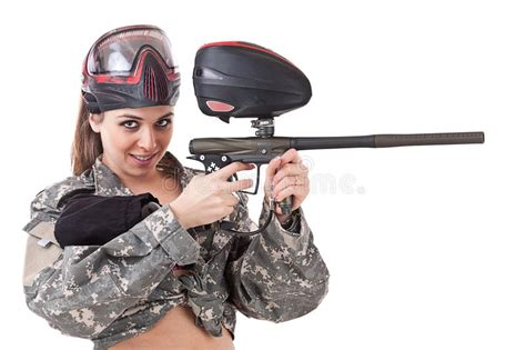 Paintball Girl Stock Images - Image 22800544