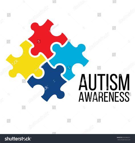 Autism Puzzle Piece Template