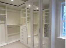 White Melamine Walk In Closet Butchko and Company