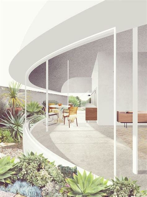 Modern Style Architectural Renders by Lilyfield House Render Retallack Thompson I Like The