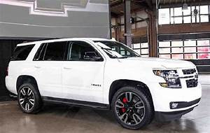 2020 Chevy Tahoe Roof Rack Red Running Boards