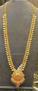 Traditional gold haram models - Latest Jewellery Designs ...