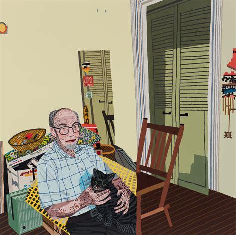 pictures  portraiture jonas wood  anton kern