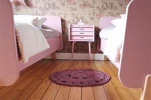 Tapis En Bois : tapis en crochet maya bois de rose la maison coquillette ~ Teatrodelosmanantiales.com Idées de Décoration