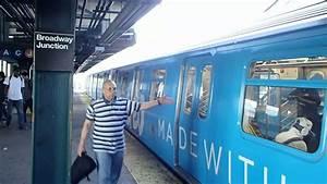 Train à L Arrivée : mta new york city subway vimeo ad wrap r160 l train leaves broadway junction youtube ~ Medecine-chirurgie-esthetiques.com Avis de Voitures