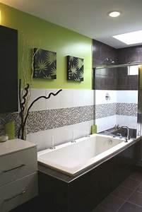 decoration salle de bain zen pour une relaxation optimale With salle de bain design avec décoration murale libellules