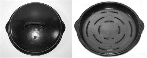 unmarked cast iron cookware identification  cast iron collector information