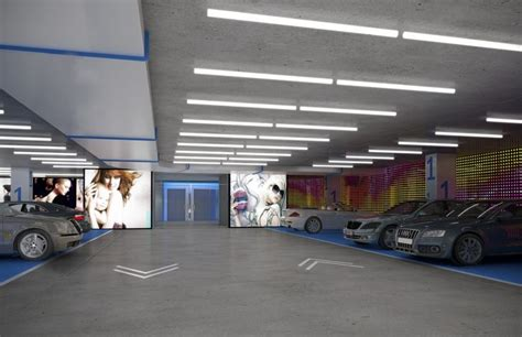 Garage Parks Mall by Mall Garages Interiors Search Baraka Office