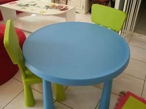 Table Enfant Avec Chaise : table 2 chaises ikea d 39 occasion table enfant ikea ~ Teatrodelosmanantiales.com Idées de Décoration