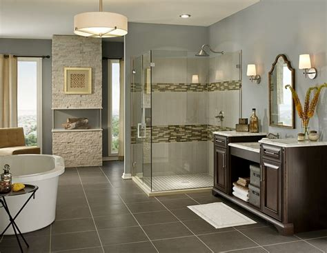 ideas   polished porcelain tile  bathroom floor