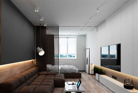 Minimalist Modern Home With A Hint Of Mondrian Flair