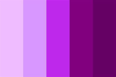 shades of purple color palette