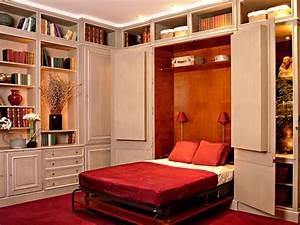 Lit Armoire Gain De Place : chambre gain de place meilleures images d 39 inspiration ~ Premium-room.com Idées de Décoration