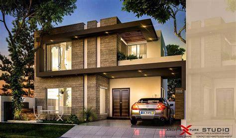 Home Design 10 Marla : By Architexture Studio- 10