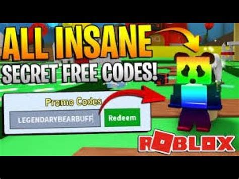 roblox bee swarm simulator  codes  youtube