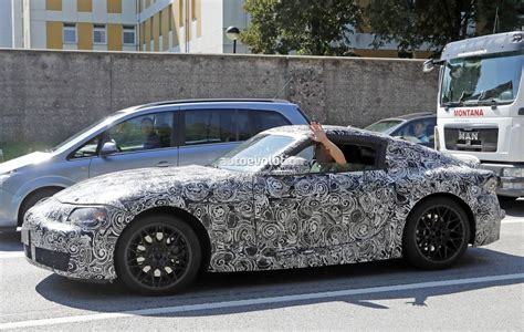 New 2018 Toyota Supra Makes Spyshot Debut, Coupe Prototype