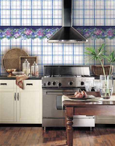 papier peint cuisine deco cuisine papier peint