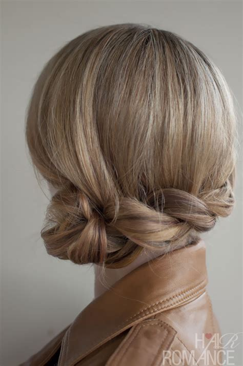 romantic side twisted braid braided updo for any