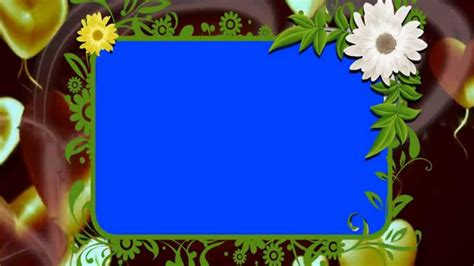 hd animated background photo frame  downloads youtube
