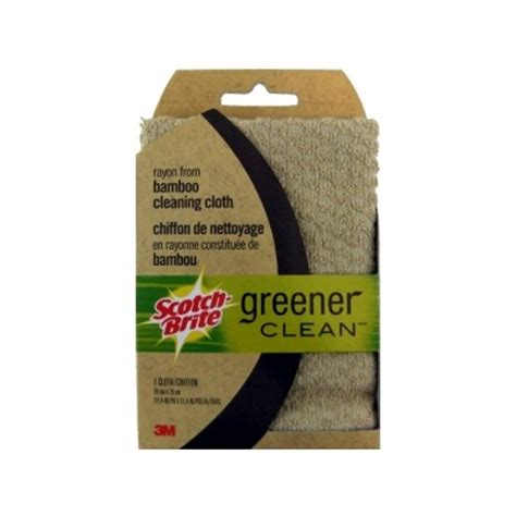 Buy Scotchbrite Greener Clean Bamboo Cleaning Cloth From