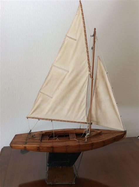 Houten Zeilboot by Oud Houten Zeilboot Incompleet Hoe Zag Hij Eruit Bm