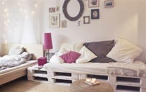 Palette Bois Pas Cher : canape en bois a faire soi meme ~ Premium-room.com Idées de Décoration